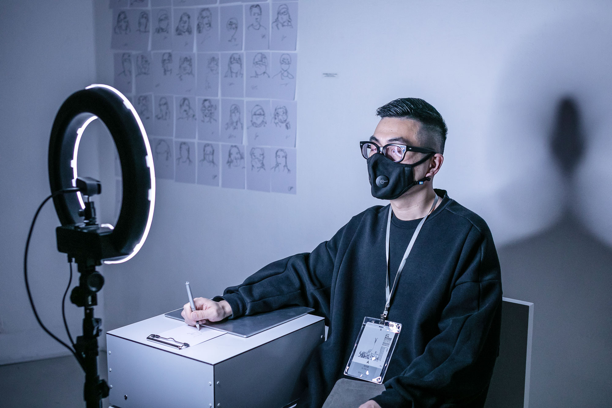 Blind Self Portrait by Kyle McDonald, Matt Mets (United States)